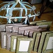 Сувениры и подарки ручной работы. Ярмарка Мастеров - ручная работа Багеты состаренные деревянные на заказ. Handmade.
