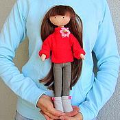 Куклы и игрушки ручной работы. Ярмарка Мастеров - ручная работа Кукла со сменной одеждой. Тряпичная Кукла. Текстильная Кукла. (9). Handmade.