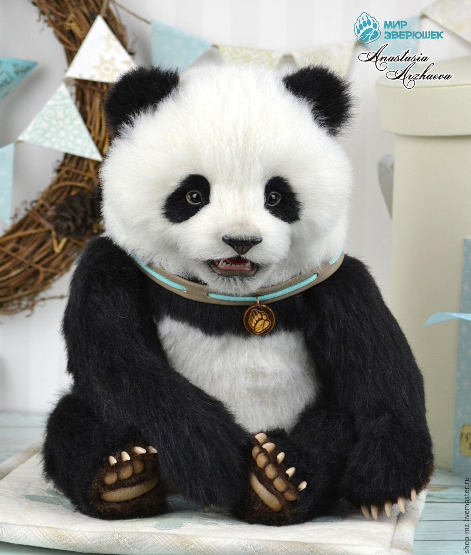 Выкройка панды с размерами