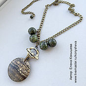 Украшения handmade. Livemaster - original item A necklace with a secret. Decoration - transformer.. Handmade.