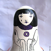 """Куклы и игрушки ручной работы. Ярмарка Мастеров - ручная работа Гадальная кукла """"Пьеро и Арлекин"""". Handmade."""