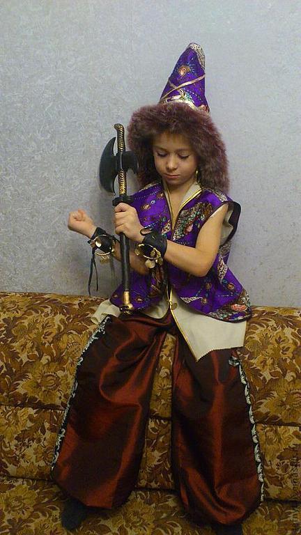 Как сделать костюм соловья-разбойника своими руками