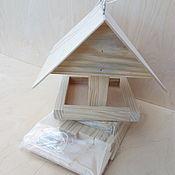 """Для домашних животных, ручной работы. Ярмарка Мастеров - ручная работа Кормушка для птиц собери сам """"Креативная"""". Handmade."""