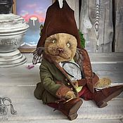 Куклы и игрушки ручной работы. Ярмарка Мастеров - ручная работа Котик тедди Патрик. Handmade.