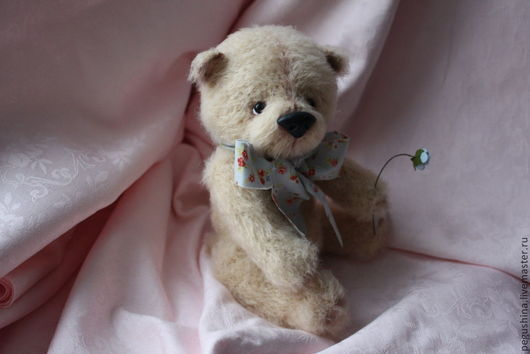 """Мишки Тедди ручной работы. Ярмарка Мастеров - ручная работа. Купить Вязаный мишка """"Бени"""". Handmade. Мишка тедди, хлопок"""