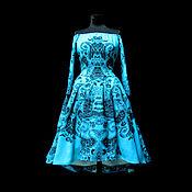 """Одежда ручной работы. Ярмарка Мастеров - ручная работа Платье """"Соблазн"""" аква авторское.. Handmade."""