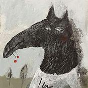 Картины и панно ручной работы. Ярмарка Мастеров - ручная работа Рукотворная открытка-сюрприз. Handmade.
