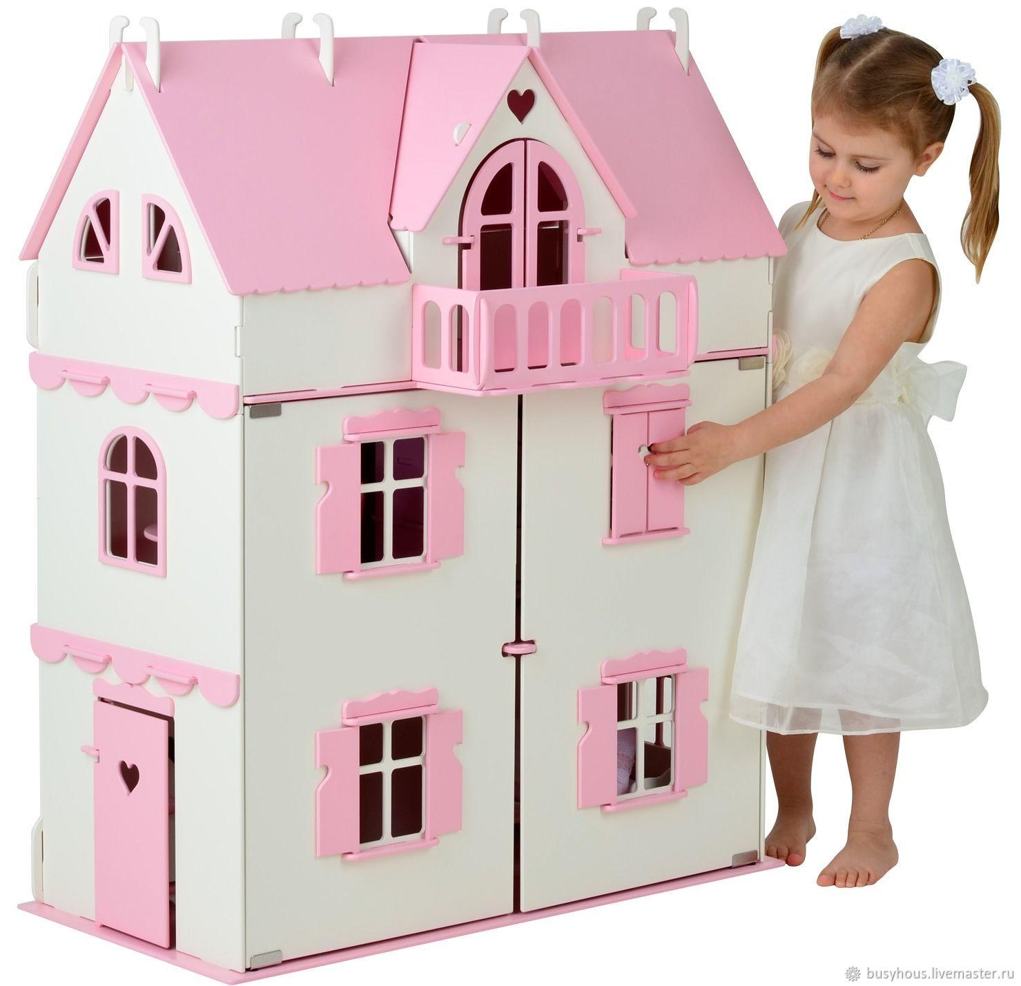 """Кукольный домик с мебелью Vallery - """"Волшебный замок"""" роза, Куклы и пупсы, Саратов,  Фото №1"""