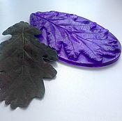 Материалы для творчества handmade. Livemaster - original item Art.3009 A sheet of universal oak, chrysanthemum 11by 6 cm-made on Tha. Handmade.