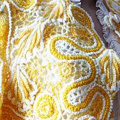 Одежда ручной работы. Ярмарка Мастеров - ручная работа Вязаное ажурное болеро. Handmade.