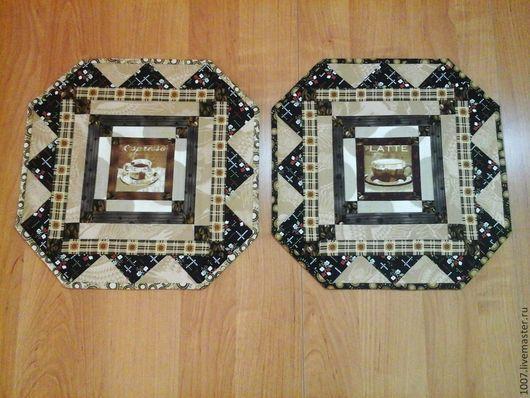 Текстиль, ковры ручной работы. Ярмарка Мастеров - ручная работа. Купить Салфетки кофейные. Handmade. Разноцветный, салфетки для сервировки