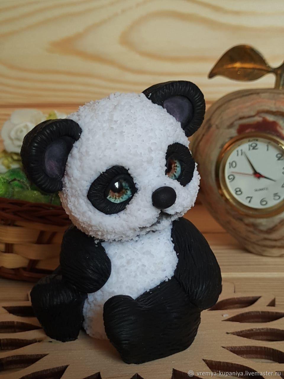 3D Silicone mold for soap 'Panda'. Copyright form, Form, Vladivostok,  Фото №1