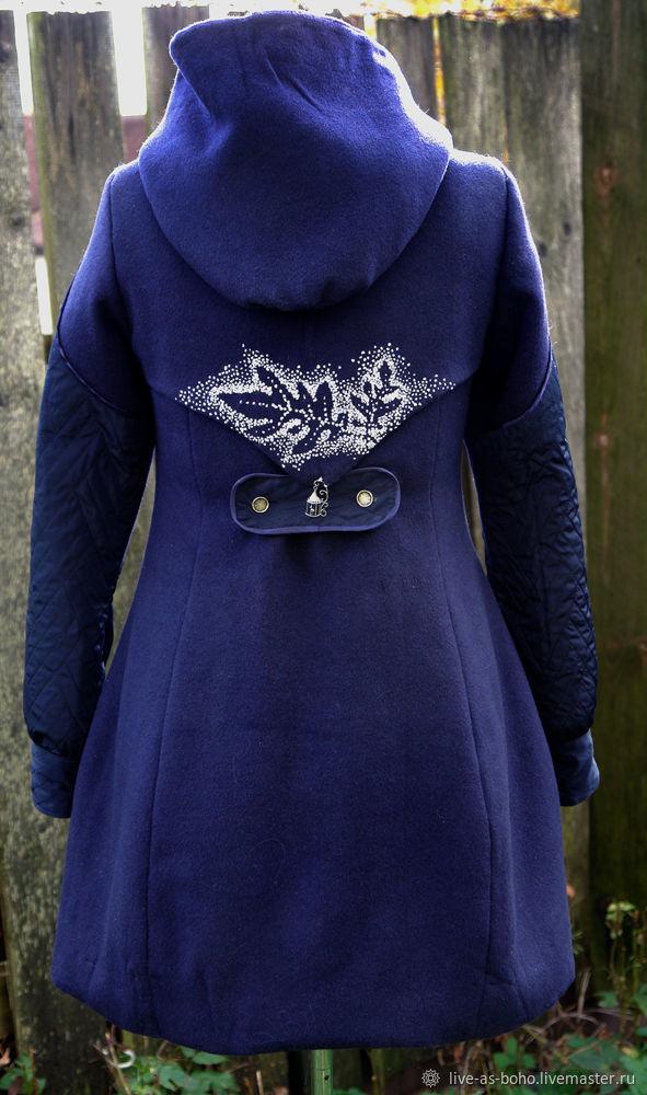 """Верхняя одежда ручной работы. Ярмарка Мастеров - ручная работа. Купить Зимнее пальто """"Самайн"""". Handmade. Бохо, Красивое пальто"""