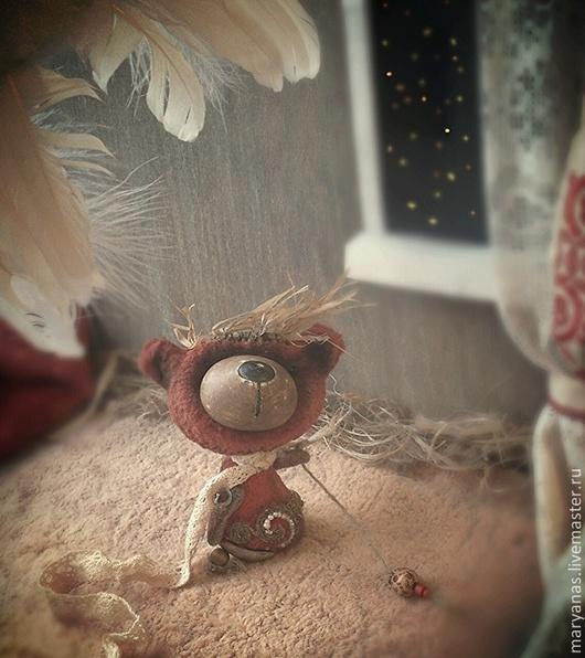 """Мишки Тедди ручной работы. Ярмарка Мастеров - ручная работа. Купить """"В ожидании яркой звезды..."""" мишка тедди. Handmade."""
