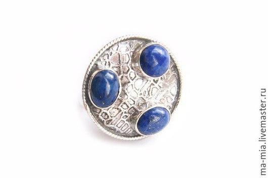 Кольца ручной работы. Ярмарка Мастеров - ручная работа. Купить кольцо Легенда. Handmade. Синий, кольцо из серебра, кольцо с лазуритом