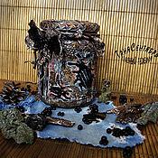Посуда handmade. Livemaster - original item Banks: Can of tea coffee in the style of GRUNGE. Handmade.