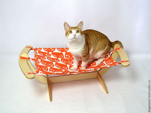 """Аксессуары для кошек, ручной работы. Ярмарка Мастеров - ручная работа. Купить Гамак для кошек и котов """"Рыжие коты"""". Handmade. Гамак"""