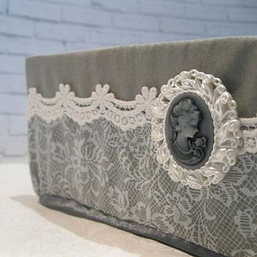 Для дома и интерьера ручной работы. Ярмарка Мастеров - ручная работа Органайзеры для белья. Handmade.