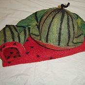 Для дома и интерьера ручной работы. Ярмарка Мастеров - ручная работа Арбузный комплект для бани. Handmade.