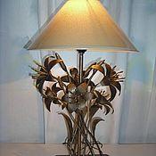 Для дома и интерьера ручной работы. Ярмарка Мастеров - ручная работа Лампа настольная (2 варианта). Handmade.