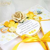 Сувениры и подарки ручной работы. Ярмарка Мастеров - ручная работа Подарочный сертификат в конверте. Handmade.