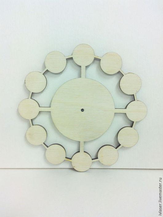 IVL-005-4 Циферблат 1 заготовка для декупажа и росписи часов Заготовка из фанеры 4 мм