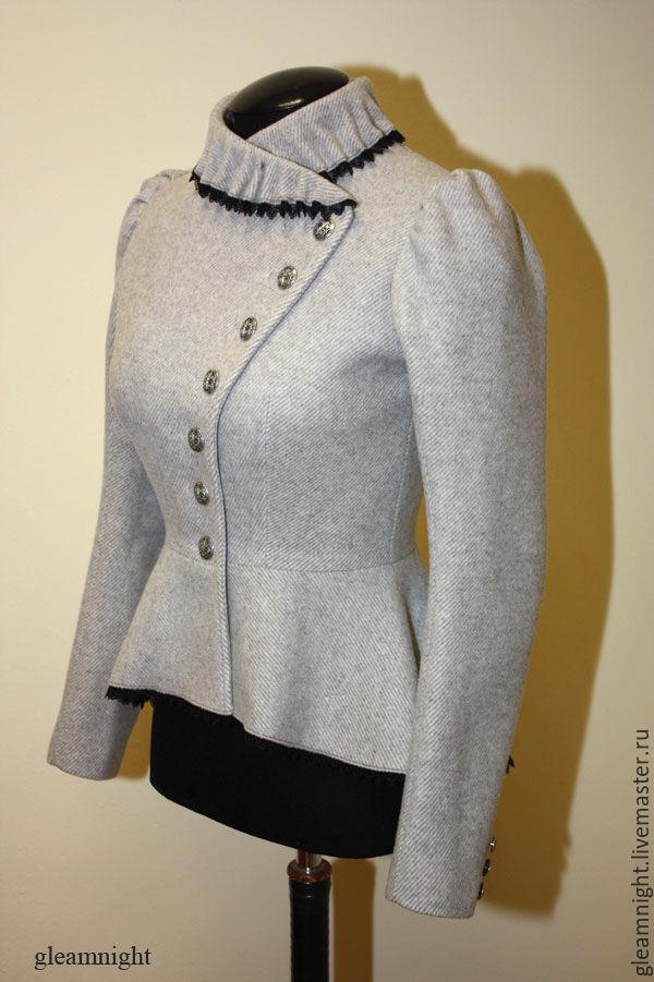 Warm jacket light grey