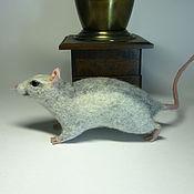Куклы и игрушки handmade. Livemaster - original item Ratty felted. Handmade.