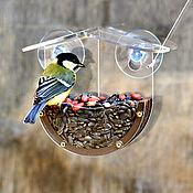 Дача и сад handmade. Livemaster - original item An original birthday gift for a friend - a bird feeder. Handmade.