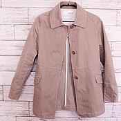 Винтажная одежда ручной работы. Ярмарка Мастеров - ручная работа Рабочая куртка из Японии. Handmade.