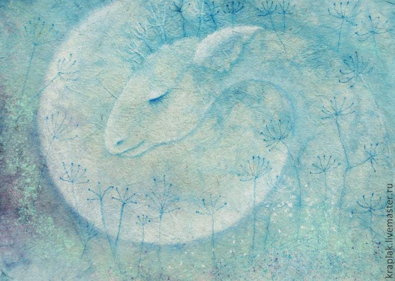 Толкователь снов... Картина-принт на холсте, Картины, Санкт-Петербург,  Фото №1