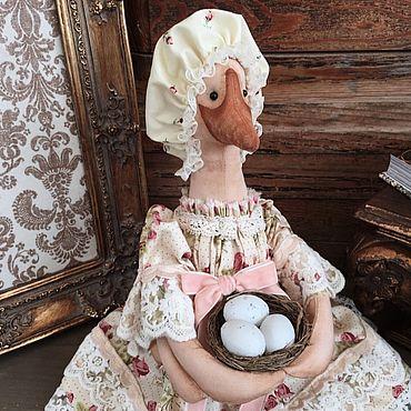 Куклы и игрушки ручной работы. Ярмарка Мастеров - ручная работа Матушка гусыня. Handmade.