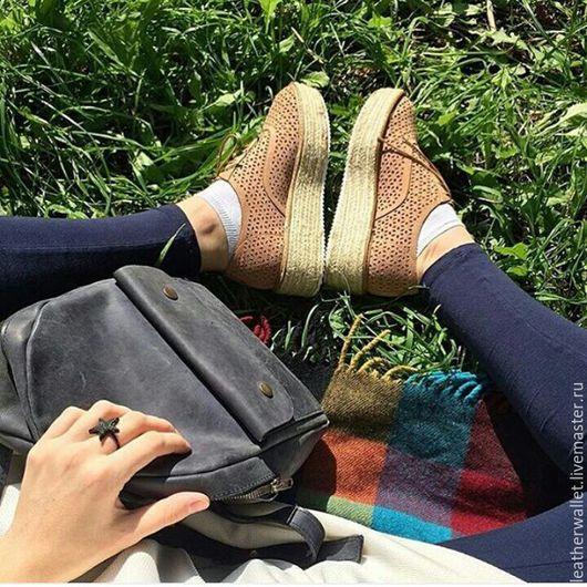 """Рюкзаки ручной работы. Ярмарка Мастеров - ручная работа. Купить Рюкзак из натуральной кожи """"Милота"""". Handmade. Кожа натуральная"""