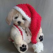 Куклы и игрушки handmade. Livemaster - original item Teddy the puppy is a Symbol of the year. Handmade.