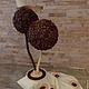 Кофейный топиарий `Дуэт`