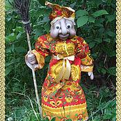 Куклы и игрушки ручной работы. Ярмарка Мастеров - ручная работа Бабка Ежка - домовушка. Handmade.