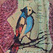 Картины и панно handmade. Livemaster - original item Art ceramics. Decorative panel