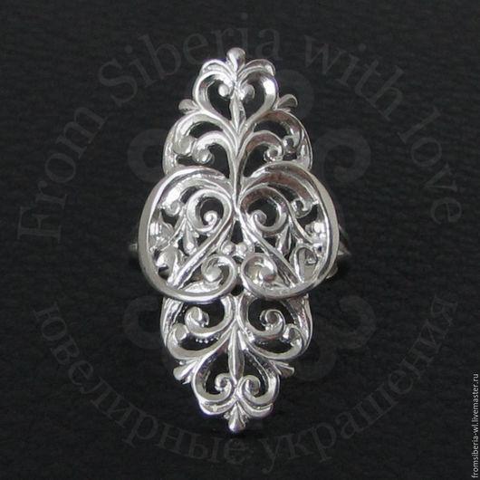 Кольца ручной работы. Ярмарка Мастеров - ручная работа. Купить Кольцо 2190 серебро 925. Handmade. Серебряное кольцо