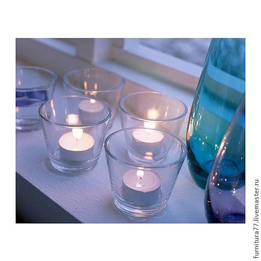 Упаковка ручной работы. Ярмарка Мастеров - ручная работа. Купить Подсвечник для арома- свечи, для свечей, для гелевых свечей. Handmade. Белый