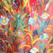Картины и панно handmade. Livemaster - original item Summer red 2. Handmade.