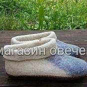 Обувь ручной работы. Ярмарка Мастеров - ручная работа Войлочные тапочки чуни. Handmade.