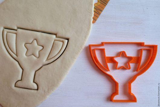 Кухня ручной работы. Ярмарка Мастеров - ручная работа. Купить Форма для печенья Кубок объемный. Handmade. Разноцветный, формочка для печенья