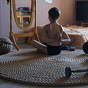 Для дома и интерьера ручной работы. Ярмарка Мастеров - ручная работа Ещё более крупный ковёр для спорта и отдыха.. Handmade.
