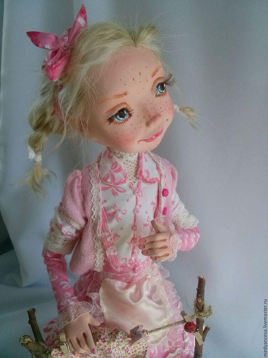 Коллекционные куклы ручной работы. Ярмарка Мастеров - ручная работа. Купить Хозяюшка. Handmade. Самозатвердеваемый пластик, кукла интерьерная