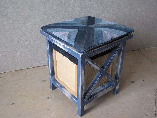 Мебель ручной работы. Ярмарка Мастеров - ручная работа. Купить прикроватная , придиваная тумбочка. Handmade. Синий, мебель для детской