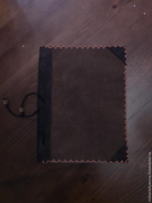 Блокноты ручной работы. Ярмарка Мастеров - ручная работа. Купить блокнот. Handmade. Коричневый, блокнот ручной работы, оригинальный подарок