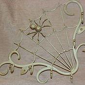 Для дома и интерьера ручной работы. Ярмарка Мастеров - ручная работа Кованая ключница. Handmade.
