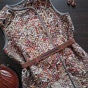 Одежда handmade. Livemaster - original item Vest cozy double-sided