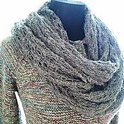 """Одежда ручной работы. Ярмарка Мастеров - ручная работа Жакет """"Эмилия"""" с ажурным шарфом. Handmade."""