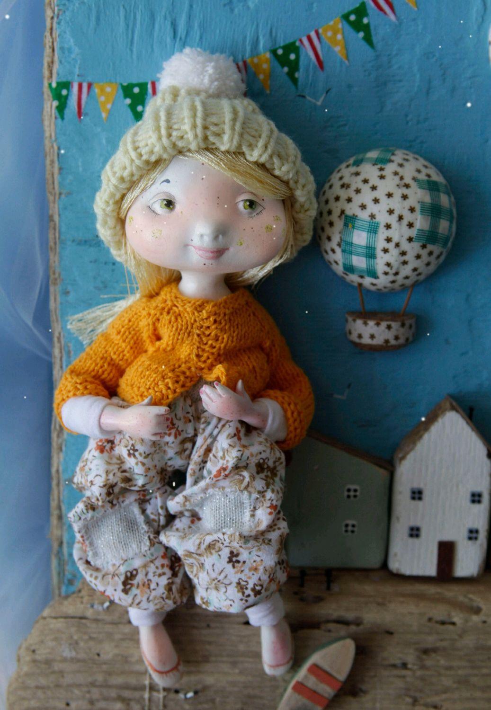 Коллекционные куклы ручной работы. Ярмарка Мастеров - ручная работа. Купить Пшеничка. Handmade. Коллекционная кукла, Декор, интерьерная кукла